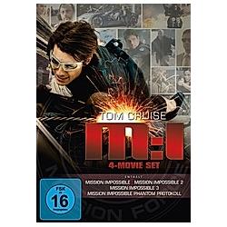 Mission: Impossible 1-4 Box - DVD  Filme