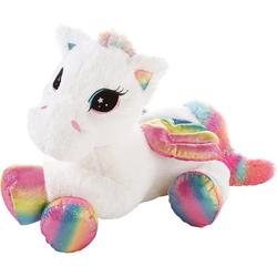 Heunec® Kuscheltier Pegasus Rainbow XL, 85 cm, liegend