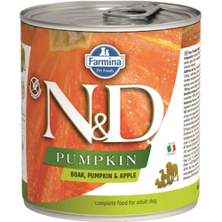 FARMINA N&D Wildschwein & Apfel Adult Nassfutter 285 g