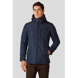 Finn Flare Winterjacke in sportlichem Design blau 4XL
