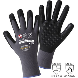 L+D NITRIL DOT 1166 Polyamid Arbeitshandschuh Größe (Handschuhe): 10, XL EN 388 , EN 407 CAT II 1