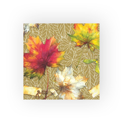 IHR Papierserviette Herbstlaub, (5 St), 33 cm x 33 cm