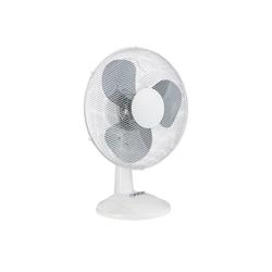 ONVAYA Tischventilator Tischventilator weiß, leiser Ventilator für den Tisch, Windmaschine im klassischen Retro Design weiß