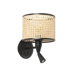 Mambo Wandlampe mit LED-Leselicht