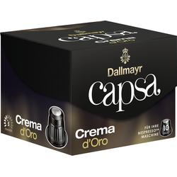 Dallmayr Nespresso Kaffee Capsa Crema d Oro 10 Kaffeekapseln 56g