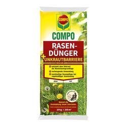 Rasendünger + Unkrautbarriere - 10 kg