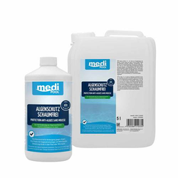 mediPOOL Algenschutz schaumfrei Algenverhütung Algenvernichter Algenschutzmittel - Inhalt:5 Liter