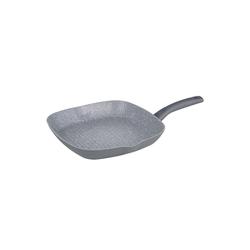 Michelino Grillpfanne Grillpfanne Nora, Aluminium (1-tlg), Grillpfanne grau