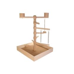 TRIXIE Holzspielplatz für Vögel 41×55×41 cm