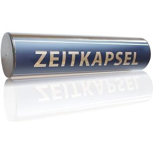 Bulktex Grundsteinrolle Dokumentenrolle Premium Rohbau Zeitkapsel 100 mm x 300 mm