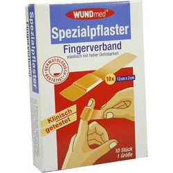 Fingerverband Spezialpflaster 12cmx2cm