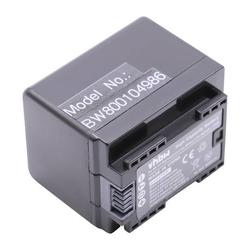 vhbw Li-Ion Akku 2400mAh (3.6V) für Camcorder Kamera Canon Legria HF R706, Legria HF R76, Legria HF R78 wie BP-727.