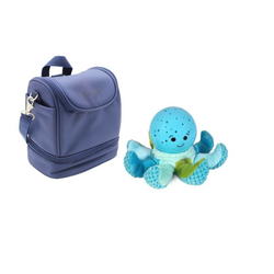 JOKA international Einschlafhilfe cloud b Octo Softeez Blue und Lunchtasche Navy, cloud b