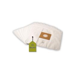 eVendix Staubsaugerbeutel 10 Staubsaugerbeutel Staubbeutel passend für Staubsauger Clean Maxx KPA11E-2, passend für Clean Maxx