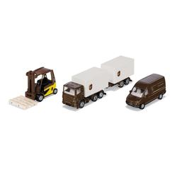 Siku Spielzeug-Auto Siku UPS Logistik-Set