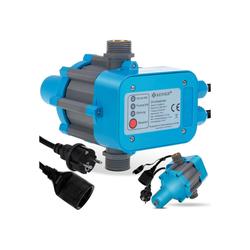 KESSER Wasserpumpe, Druckschalter Druckwächter Pumpensteuerung Gartenbewässerung mit Kabel blau
