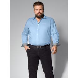 Spezialschnitt Hemd Men Plus Hellblau