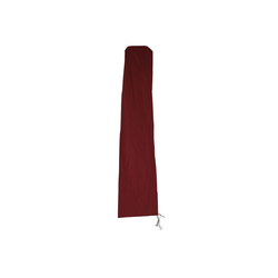 MCW Abdeckhaube Schutzh?lle-MCW-3,5, Innenseite mit wasserdichter PVC-Beschichtung, Für Ampelschirm HWC bis 3,5m rot