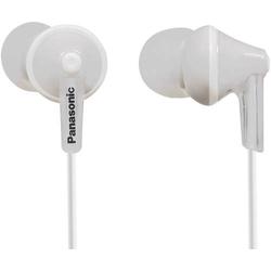 Panasonic RP-HJE125E In Ear Kopfhörer In Ear Weiß