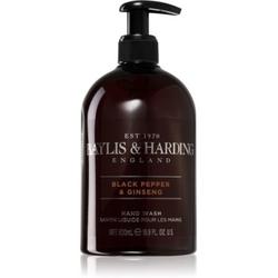 Baylis & Harding Black Pepper & Ginseng flüssige Seife für die Hände 500 ml