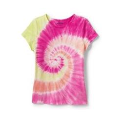 Shirt mit Farbmustern - 98/104 - Pink