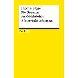 Die Grenzen der Objektivität. Thomas Nagel  - Buch