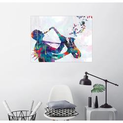 Posterlounge Wandbild, Saxofon 70 cm x 50 cm