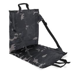 bw-online-shop Faltbares Sitzkissen mit Lehne darkcamo