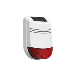Safe2Home Safe2Home® Solar Funk Außensirene Serie SP110 / SP210 / SA100 – mit Repeater Funktion Alarmanlage (Funk Außensirene)