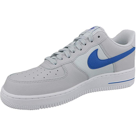 Nike Men's Air Force 1 '07 grey-blue/ white, 44