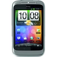 HTC Wildfire S silber