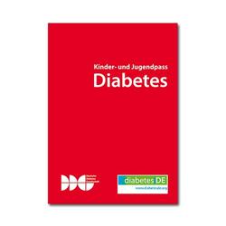 Gesundheits - Pass Diabetes für Kinder (DDG)