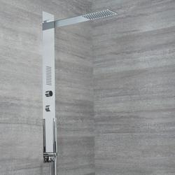 Narus Digitales Unterputz Duschpaneel mit Regendusche & Handbrause, von Hudson Reed