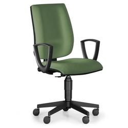 Bürostuhl figo, dauerkontakt-rückenlehne, grün
