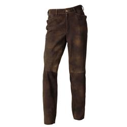 REITMAYER Wildbock-Lederhose Braun (Größe: 25)