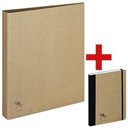 Ringbuch A4 »Pur« inkl. Notizbuch A5 »Pur«, Pagna, 26x32 cm