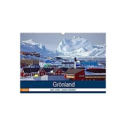 Grönland - Der wilde, weiße Westen (Wandkalender 2021 DIN A3 quer)