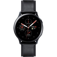 40mm Stainless Steel LTE Black
