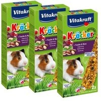Vitakraft Kräcker Mix Honig, Nuss, Frucht 3 x 2 St.