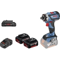 Bosch GSR 18V-60 FC Professional inkl. 2 x 5,0 Ah + 1 x 4,0 Ah + L-Boxx (0615990K7K)