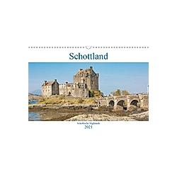 Schottland - Schottische Highlands (Wandkalender 2021 DIN A3 quer)