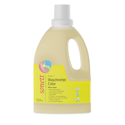Sonett Waschmittel Color Mint u. Lemon 1.5 Liter