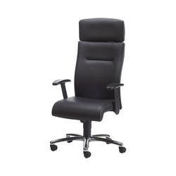 NOWYSTYL Chefsessel Eco Lux mit breiter Kopfstütze und ergonomisch geformtem Sitz