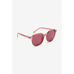 Next Sonnenbrille Adrette runde Sonnenbrille rot