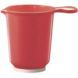 WACA Rührschüssel, Melamin, (Set, 2-tlg), 1.200 ml rot