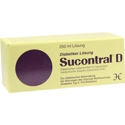SUCONTRAL D Diabetiker Lösung 250 ml