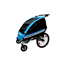 KidsCab Cares for 2S Fahrradanhänger 2-in-1