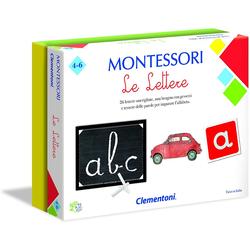 Pädagogisches Brettspiel Clementoni Montessori Die Briefe