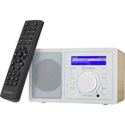 Renkforce RF-IR-MONO1 WOOD Internet Tischradio Internet Bluetooth®, AUX, Internetradio, WLAN DLNA-f