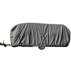 Wohnwagen / Wohnmobil Ganzgarage Abdeckplane grau 610x225x220 cm